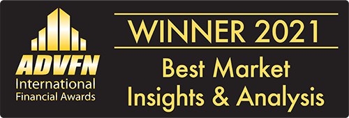 ADVFN Best Market Insights and Analysis Winner 2021